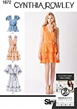 Simplicity Sewing Pattern 1872 - Misses' Dresses Sizes: H5 (6-8-10-12-14)