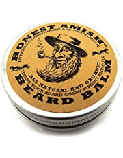 Honest Amish Beard Balm Leave-in Conditioner - Made with only Natural and Organic Ingredients - 2 Ounce Tin