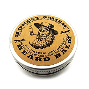 Honest Amish Beard Balm Leave-in Conditioner - Made with only Natural and Organic Ingredients - 2 Ounce Tin 5