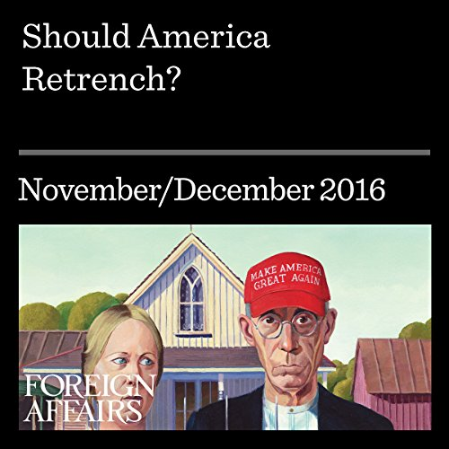 Should America Retrench? audiobook cover art