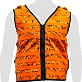 Illusion Systems The Tactical Molle System Hunting Vest - Hunting Gear - Outdoor Apparel - Deer, Bird, Duck & Turkey Hunting- OSFA-Digital Camo Orange