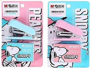 M&G Light Stationery Snoopy Mini Stapler Set - No:Sbs91670