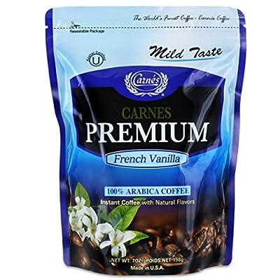 Carnes Premium Instant Coffee 100% Arabica Coffee 2.5oz (71g) by Carnes