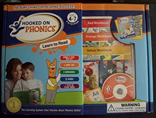 Hooked on Phonics Learn to Read Ages 4-7 K-1st Grade
