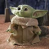 Figura de Yoda de Felpa de 11 Pulgadas Peluche mandaloriano Adornos de muñeco Yoda