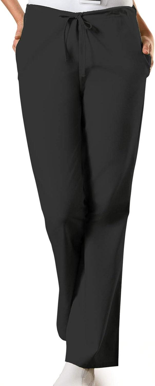 Cherokee Women's Flare Leg Drawstring Scrub Pant