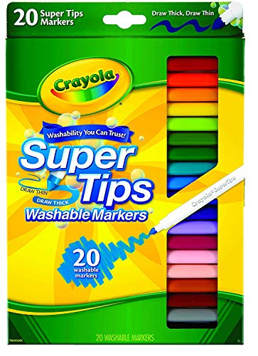 Super Tips Markers 20 count pack of 12