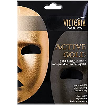 Anti-wrinkle Collagen Mask - Active Gold - Facilitates the Removal of Toxins Through Your Face. Contains Collagen + Vitamin ? + Vitamin B3 from CAMCO LTD