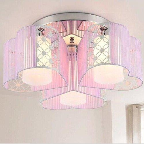 LightInTheBox - Lámpara de techo con 3 lámparas para comedor, sala de estudio, color blanco