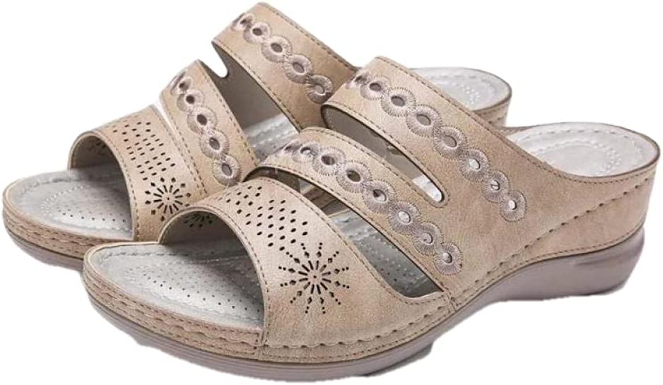 Men'S Sports & Outdoor Shoessummer Women Sandals Wedges Open Toe Outdoor Platform Flip Flop Sandals For Women-B_9_Us