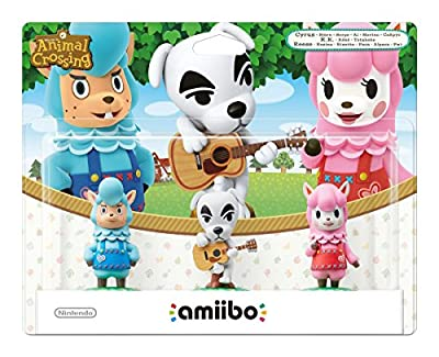 3 Pack (Reese + K.K. Slider + Cyrus) amiibo - Animal Crossing Collection (Nintendo Wii U/3DS)