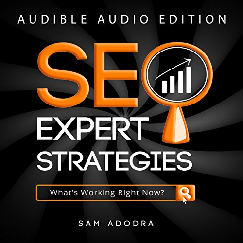 SEO Expert Strategies audiobook cover art