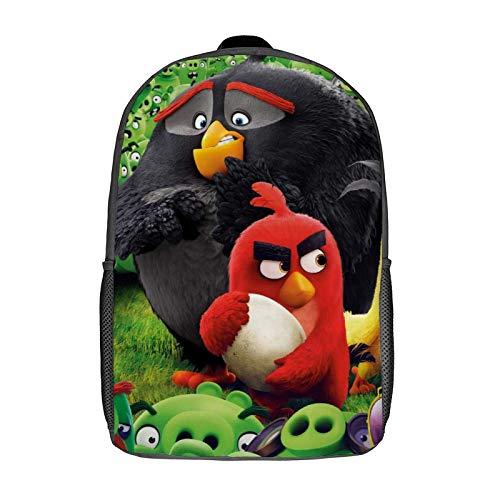 Z-elda Mochila escolar para niños y niñas, mochila escolar de lona unisex linda ligera mochila para portátil, Negro-estilo12 (Blanco) - XB0604022
