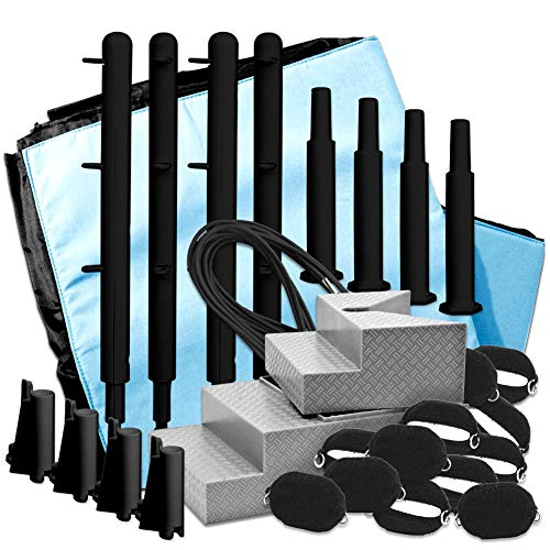 Figures Toy Company Wrestling Ring Conversion Kit: Deal 4 (Black & Blue Extreme Deal)