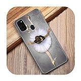 Coque souple pour Samsung Galaxy M11 M10S M01 M21 M31S M51 A01 J2 Core A21 A42 A6 A8 Plus J6 Plus...