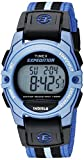 Timex Unisex TW4B02300 Expedition Mid-Size Digital CAT Blue/Black Nylon Strap Watch