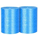 Bubble Cushioning Wrap - Bubble Cushioning Wrap for Moving with Perforated Every 12, Easy to Tear, Small Bubble, Thicker & Durable forPacking, Delivering & Moving (Total 12 x70 Feet, 35/Roll)