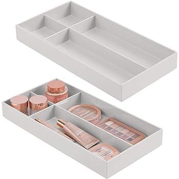 Organizador de Armario Caja de Almacenamiento Debajo de la Cama Caja de Almacenamiento GUANLIAN Caja de Almacenamiento con 8 separadores de cajones Plegables