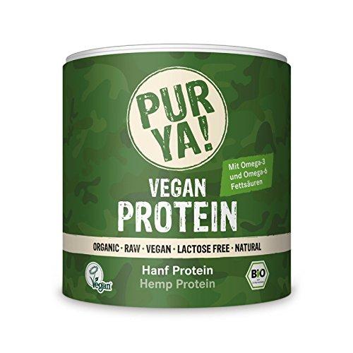 Purya Proteína Vegetal 100% Cáñamo Ecológica - 250 gr