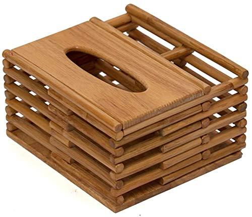 Caja de pañuelas cubierta de cubierta Caja de tejido multifunción Multifunción Caja de estar Control remoto Caja de almacenamiento Tabla de café Hogar Firma de cartón Productos de ratán Caja de tejido