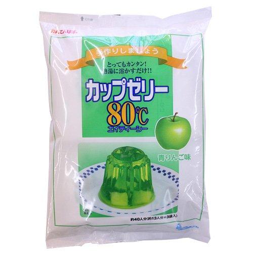 かんてんぱぱ 青りんごゼリー 200g×3袋