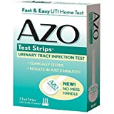 AZO Urinary Tract Infection Test Strips, MegaQuantity Pack of 3 (9 Count Total)