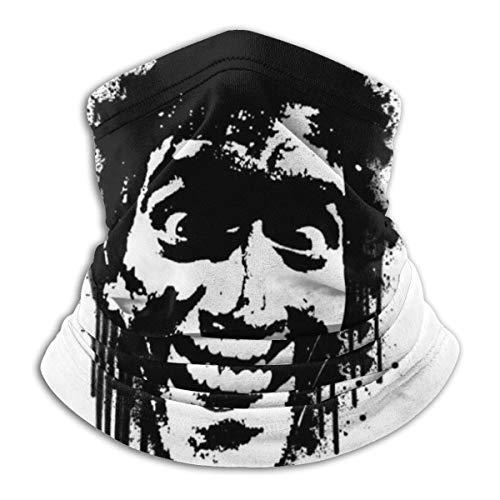 Neck Warmer Evil Dead Ash Groovy Face Transpirable Impreso Hombres Cuello Polaina Calentador Pañuelos Sin Costuras Protección Solar Motociclismo Mujeres Personalizadas