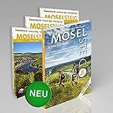 Moselsteig - PremiumSet. Offizieller Wanderführer mit drei Karten 1: 25 000. GPS-Daten, Höhenprofile, Online-Anbindung 'Scan ... Römern und Riesling von Perl bis Koblenz