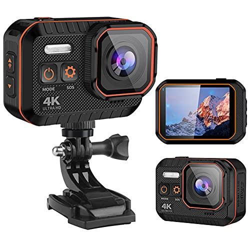 Wasserdichte Action-Kamera 4K/60fps...