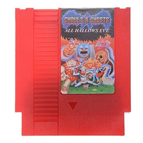 GOZAR Alle Hallows Eve - Ghosts'N Goblins 72 Pin 8-Bit-Spielkarte Patrone Für Nes Nintendo