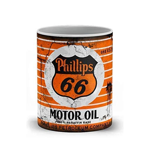 Coffee Mugs for men - At the price Phillips 66 M Ceramic Oil Special Campaign Motor 11 Ounce