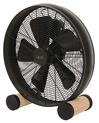 LUCCI AIR 213122EU Breeze Vloerventilator, staal