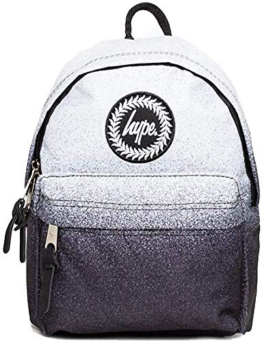 Hype Speckle Fade White/Black MINI SMALL Backpack