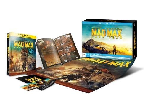 Mad Max Fury Road - Exklusiv FNAC Box inkl. Steelbook (inkl. Comic, Poster u.a.) [3D Blu-ray + 2D] [Limited Edition]