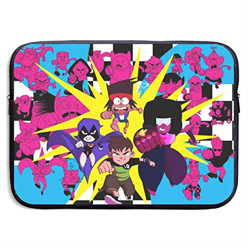 Hdadwy The Powerpuff Girls Universe Spinel Cartoon Laptop Sleeve Bag 13 Inch Tablet Briefcase Ultra Portable Protective, Laptop Canvas Cover MacBook Air, MacBook Pro, Notebook Computer Sleeve Case