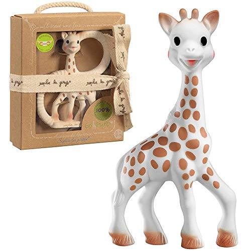 VULLI Sophie la Girafe - Juego de regalo de caucho natural Vulli La jirafa