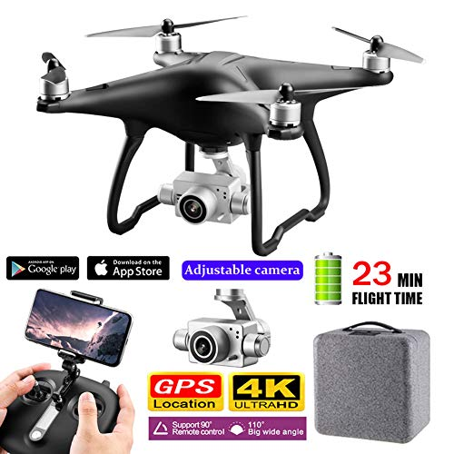 5G WIFI FPV RC Drone Met 4K HD Camera Borstelloze Motor Altitude Hold APP RC Helicopter Vliegtuigen