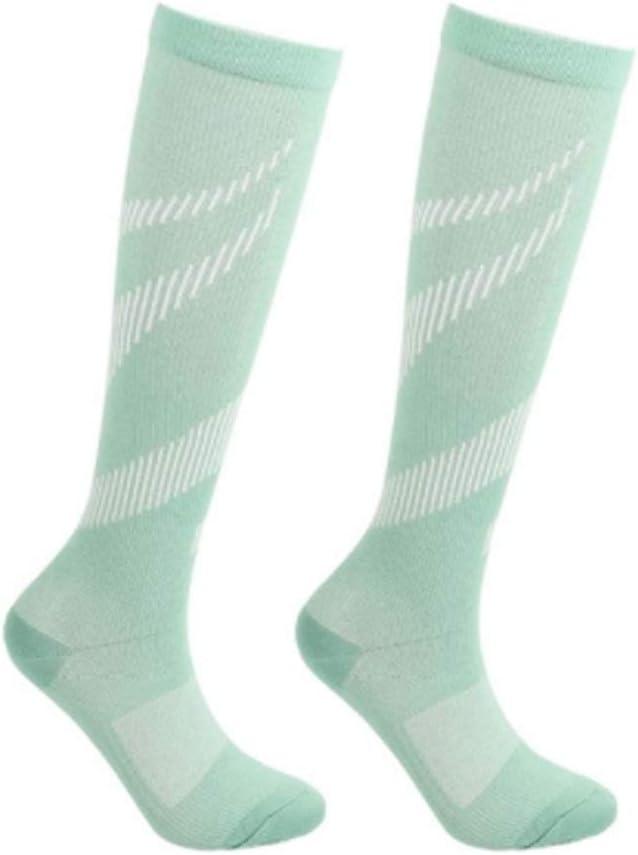 Las Vegas Mall GPPZM Running Indianapolis Mall Compression Socks Ladies Knee Sports Rac Men