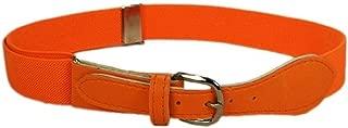 LeCessoriz Childrens Orange adjustable Elastic Buckle Belt