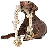 Fida Juguetes de cuerda para perros para masticadores agresivos grandes/medianos, cuerda...