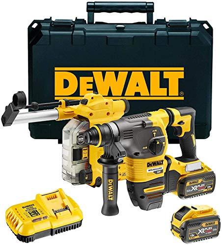 DeWALT DCH335X2-QW Akku-Kombihammer SDS-plus, 54V, 54 V, Schwarz/Gelb, Size