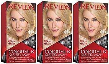 3-Pack Revlon Colorsilk Beautiful Color Permanent Hair Color 4.4 Oz