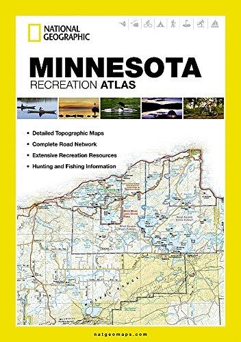 Minnesota Recreation Atlas: State Recreation Atlas (National Geographic)