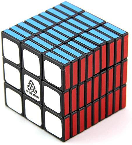 Sooiy Cubo de la Velocidad 3X3x9, Formas Continua Que Pasa Cubo del Rompecabezas de la Forma Creativa de Juguete,A