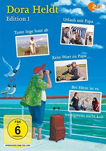 Dora Heldt - Edition 1: Urlaub mit Papa / Tante Inge haut ab / Kein Wort zu Papa / Bei Hitze ist es wenigstens nicht kalt (4 Filme auf 2 DVDs)