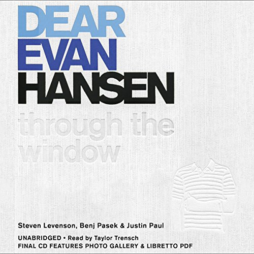 Dear Evan Hansen: Through the Window audiobook cover art