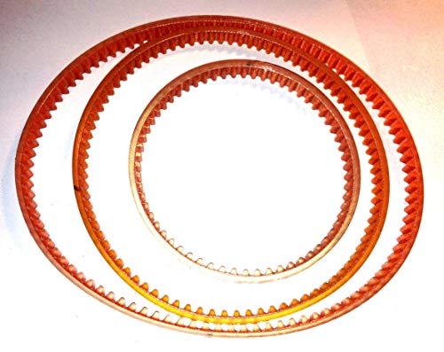 New 3 Belt Replacement Set for use with Central Machinery Mini Lathe Mill Machine Model 39743