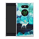 HHDY Razer Phone 2 Hülle, Painted Muster Weich Ultradünne