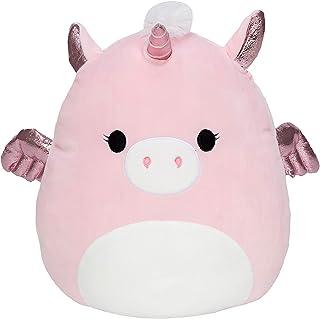 Squishmallows Official Kellytoy Grecia The Pegacorn Pegasus Unicorn Pink Soft Squishy Plush Toy Animal (12 Inch)