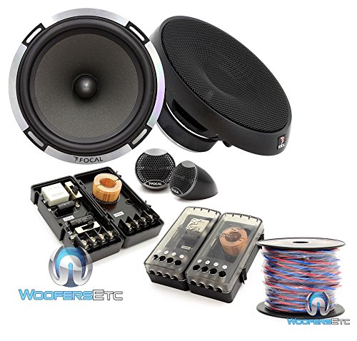 Great Price! pkg Focal PS165 6.5 160W RMS 2-Way Performance Series Component Speakers System + 50 F...
